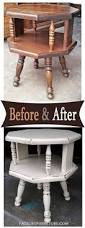 Painted Furniture Ideas Before And After 84 Best End Tables Images On Pinterest Painted Furniture