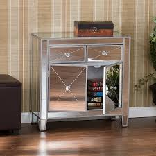 Mirrored Night Stands Bedroom Interesting Mirrored Nightstand For Modern Bedroom