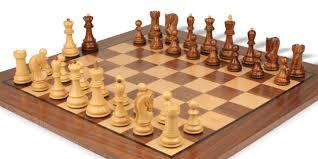 yugoslavia staunton chess set in golden rosewood u0026 boxwood with