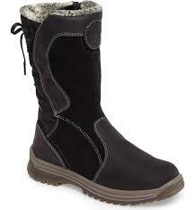 womens fur boots canada santana canada mayer faux fur lined waterproof boot