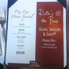 ruth chris exploring ruth u0027s chris sizzle swizzle u0026 swirl happy hour