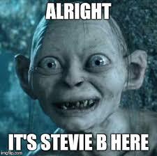 Stevie Meme - gollum meme imgflip