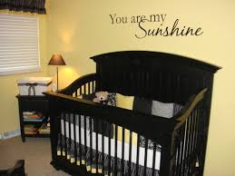 Black And Yellow Crib Bedding Yellow Baby Room With Black White And Yellow A Black