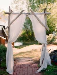 wedding arbor kits driftwood wedding arch driftwood arbor maine wedding