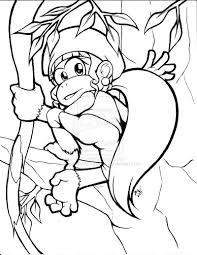 download coloring pages donkey kong coloring pages mario and