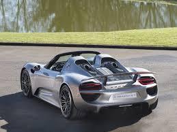 Porsche 918 Gas Mileage - stock tom hartley jnr
