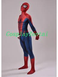 art spider man cosplay halloween costume 3d design spiderman costume