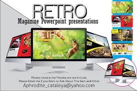 retro powerpoint presentations presentation templates creative