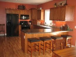 wall color ideas deep orange kitchen enhancing the ear empire