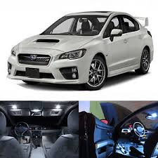 subaru white 2017 led white lights interior license package kit for subaru wrx sti