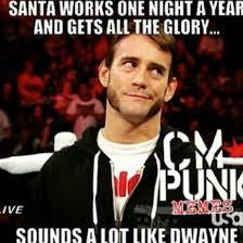 Cm Punk Meme - punk rock santa meme wwe stuff pinterest punk rock punk