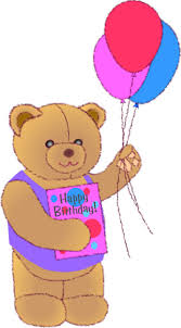 teddy balloons teddy with balloons clipart 25