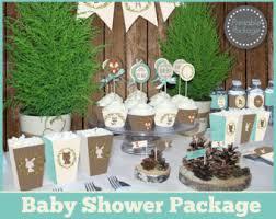 woodland creatures baby shower decorations woodland baby shower etsy