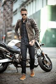 motorcycle jackets for men 300 best fashion is the only cure images on pinterest menswear