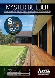 publications master builders wa