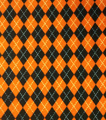 Halloween Fabric Tablecloth Holiday Inspirations Fabric Halloween Argyle Halloween Fashion