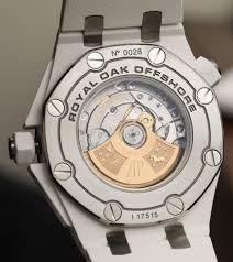 audemars piguet royal oak offshore diver watch in white ceramic