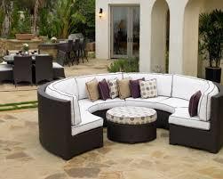 Curved Patio Sofa Curved Outdoor Sofa Sectional For Ideas 1 Swineflumaps