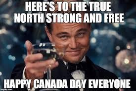 Canada Day Meme - leonardo dicaprio cheers meme imgflip
