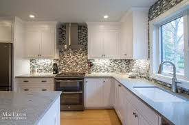 Kitchen Quartz Countertops by Transitional Granite And Quartz Grey Scale Kitchen Villanova Pa