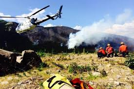 Bc Wildfire Drone by Home Invermere Valley Echo