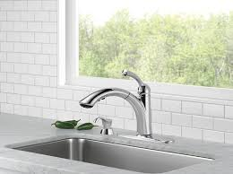 delta 16926 sd dst lewiston single handle pull out kitchen faucet
