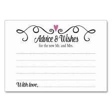 wishes for wedding cards sweetest wishes for the new mr and mrs advice card zazzle