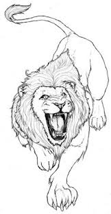 pin celso arabesco lions tattoo lion