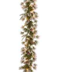 national tree company 9 feel real liberty pine garland with pine