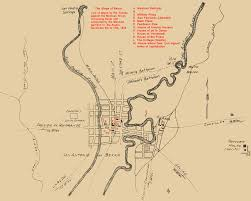 Battle Of New Orleans Map by