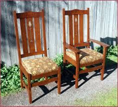 Dining Chairs Sets Side And Arm Chairs Voorhees Craftsman Mission Oak Furniture Gustav Stickley Harvey