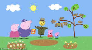 peppa pig taught word daily mail