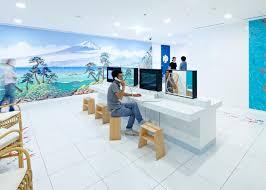 tokyo google office google japan by klein dytham architecture