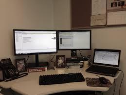 Three Monitor Desk Three Monitors Jamie Todd Rubin
