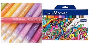 hurry acrylic paint fine tip deco markers u2013 12 colors only 9 99