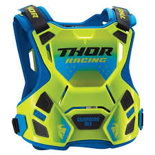 guardian mx chest protector minicross youth flo green