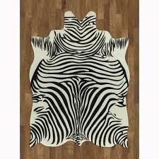 Zebra Rug Target Faux Zebra Rug Rugs Ideas