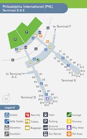 philadelphia international airport map travelnerd terminal e
