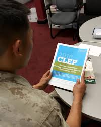 clep tests offer a quicker route to higher education u003e marine