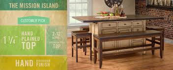 amish made kitchen islands amish furniture in the philadelphia area handcrafted furniture