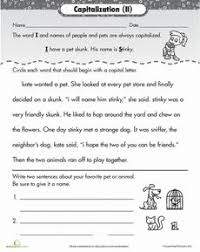 capital capitalizing titles worksheets 5th grades and 5th