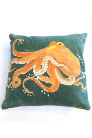 restless natives octopus batik pillow from florida u2014 shoptiques