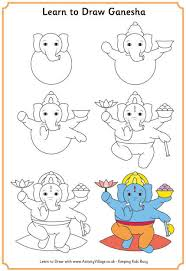 learn to draw diwali pictures