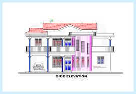 srilankan style home plan and elevation 2230 sq ft fa123456fa