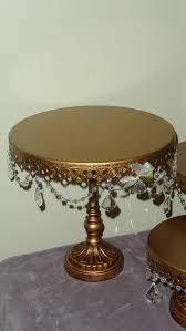 Opulent Treasure Wedding Cake Stands Plates Opulent Treasures Gold Pedestal Cake