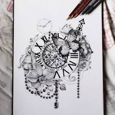 best 25 clock tattoos ideas on pinterest time piece tattoo