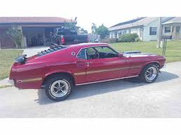 Black Mustang Mach 1 1969 Ford Mustang Mach 1 For Sale On Classiccars Com 18 Available