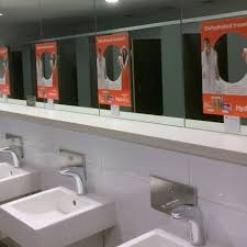 Mirror Decals For Bathrooms - convenience advertising australia u0027s largest washroom media company