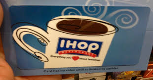 ihop gift cards ihop gift card gift card ideas