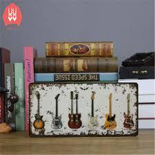 Guitar Home Decor Online Get Cheap Guitar License Plate Aliexpress Com Alibaba Group